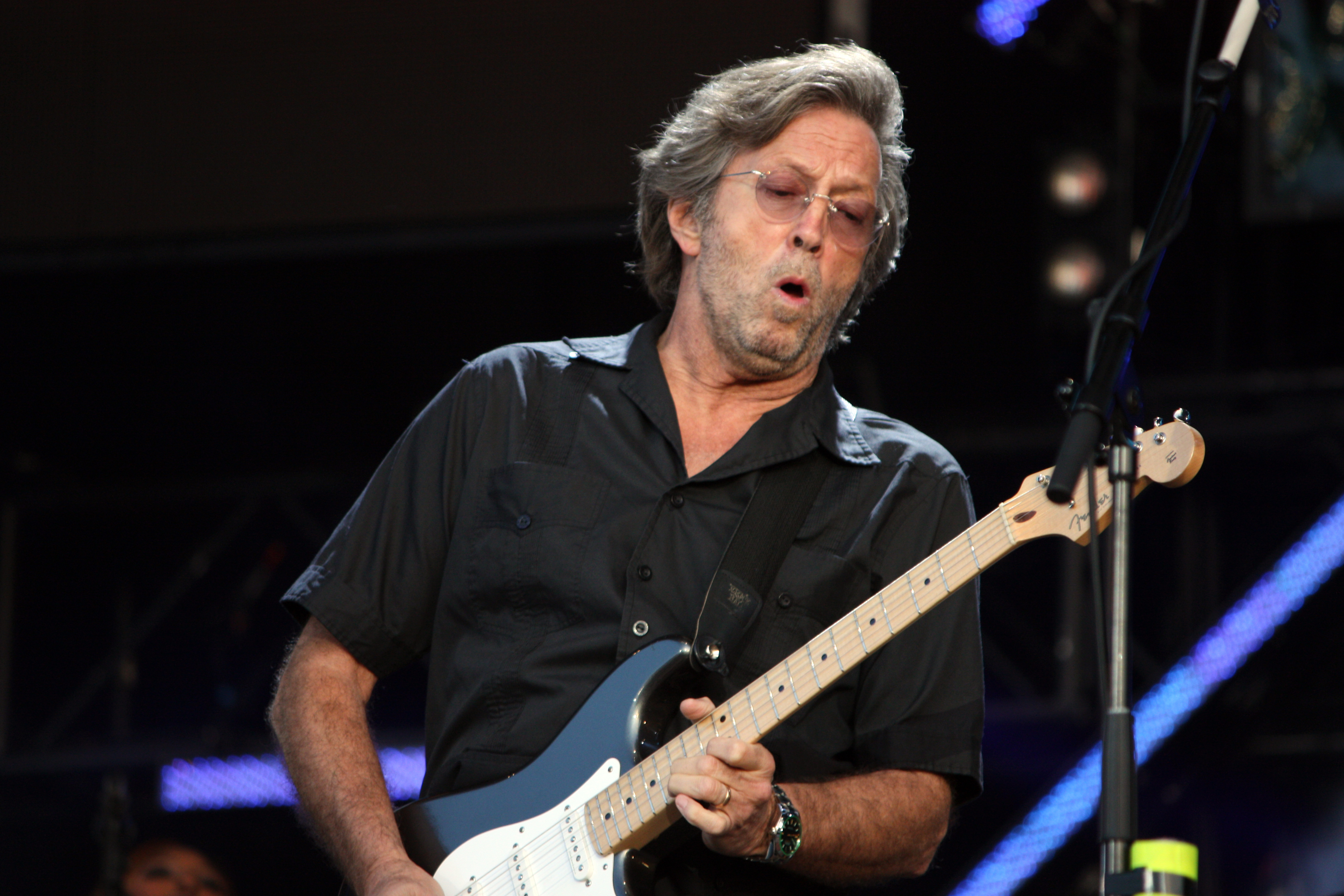 I want to play the guitar like Eric Clapton